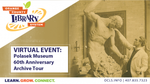 Virtual Event: Polasek Museum 60th Anniversary Archive Tour