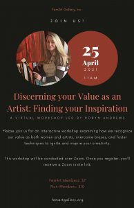 """""""Discerning your Value as an Artist: Finding your ..."""