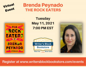 Virtual Event with Brenda Peynado - THE ROCK EATERS