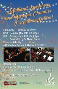 Maitland Symphony Orchestra Returns!