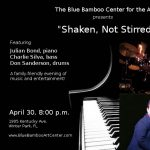 Julian Bond Trio: Shaken, Not Stirred