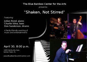 Julian Bond Trio: Shaken, Not Stirred