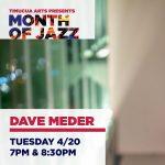 Live at Timucua: Dave Meder