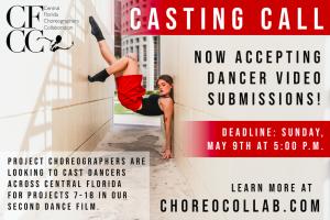 Seeking Dancers for Film Project **DEADLINE EXTEND...