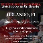 Puerto Rico es Bomba: Bombeando Por La Florida