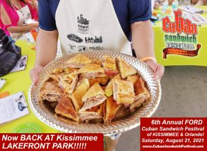 6th Annual FORD Cuban Sandwich Festival of Kissimmee & Orlando