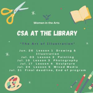 CSA Summer at the Library