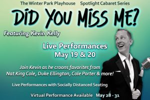 Spotlight Cabaret Series featuring Kevin Kelly