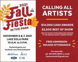 50th annual Fall Fiesta in the Park