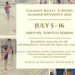 Galmont Ballet Summer Intensive 2021