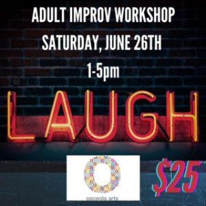 Laugh Lab: Adult Improv Workshop
