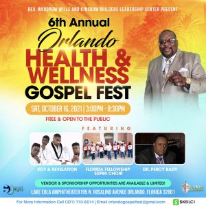 6th Annual Orlando Health & Wellness Gospel Fest