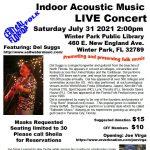 Indoor Acoustic Music Concert