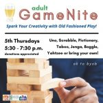 Adult GameNite - Spark Your Creativity with Old Fashioned Play
