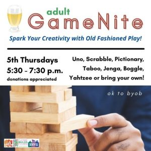 Adult GameNite - Spark Your Creativity with Old Fa...
