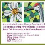 Ribbon Cutting & Artist Talk at Bomberos Field Park
