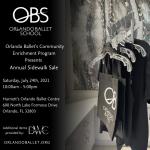 Orlando Ballet's Community Enrichment Program Presents Annual Sidewalk Sale