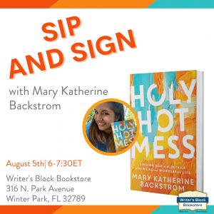 In-Person Book Signing with Mary Katherine Backstr...