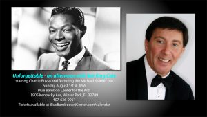 Charlie Russo presents: The Music of Nat King Cole...