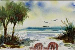 Learn to Paint Abstract Landscapes with Watercolor...