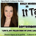 Spotlight Cabaret Series featuring Kelly Morris Rowan