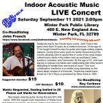 Indoor Acoustic Music LIVE Concert