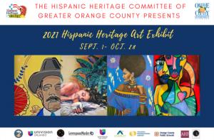 2021 Hispanic Heritage Month Art Exhibit