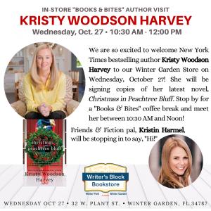 In-Store 'Books & Bites' Kristin Woodson Harve...