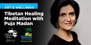 Art & Wellness: Tibetan Meditation with Puja Madan (In-Person)