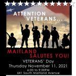 Maitland Celebrates Veterans