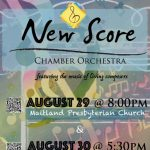New Score Chamber Orchestra Concert