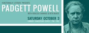 Functionally Literate presents: Padgett Powell