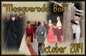 Masquerade Ball, celebrating Nat'l Arts/Humanities Month