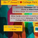I Love College Park Art & Wine Stroll