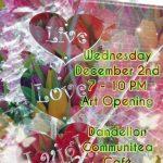 Live, Love, Laugh Artists Reception