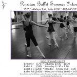 Summer Intensive Ballet Classes