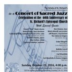 A Concert of Sacred Jazz