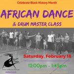 African Dance & Drum Master Class