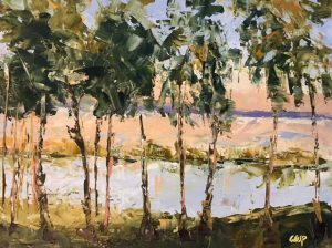 Contemporary Abstract Landscape Painting