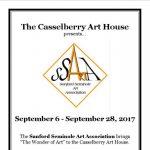 Sanford Seminole Art Association Exhibit