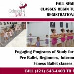 Galmont Ballet Fall Registrations accepted now!