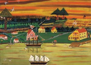 Permanent Collection of Earl Cunningham Paintings