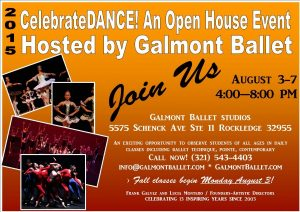 CelebrateDANCE! Fall Open House