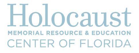 Holocaust Memorial Resource and Education Center - OrlandoAtPlay.com