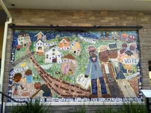The Community Pride in Hannibal Square Mosaic