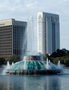 Lake Eola Fountain