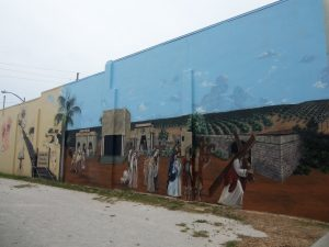 Passion Play Mural