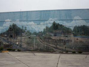 Turpentine Mural